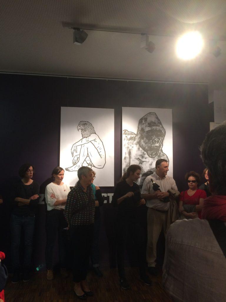 Expo hommage à Zoo project à la médiathèque Marguerite Duras
