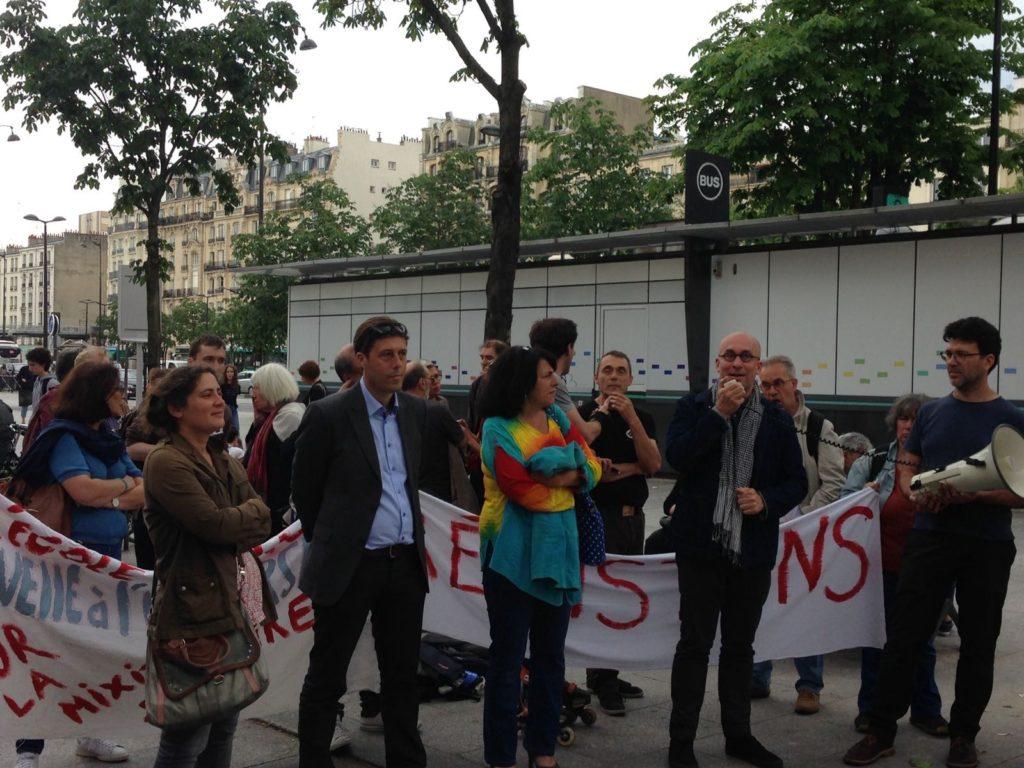 Mobilisation aux côtés des lycéen-e-s d'Hélène Boucher
